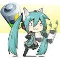 Chibi Vocaloid Battery Widget icon