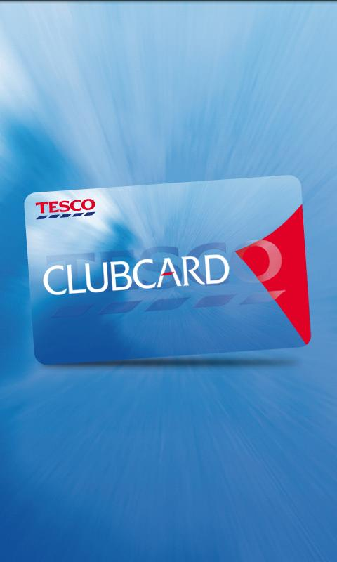 Tesco Clubcard- screenshot
