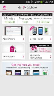 T-Mobile MyAccount [Legacy] - screenshot thumbnail