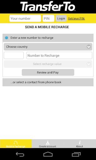 International Mobile Recharge