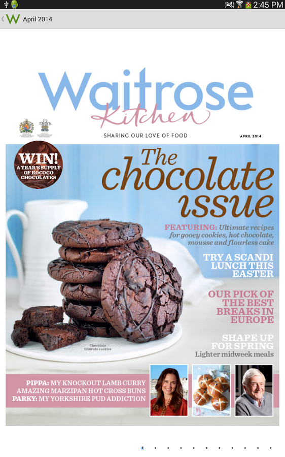 Waitrose Kitchen - screenshot