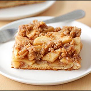 Apple Streusel Slab Pie