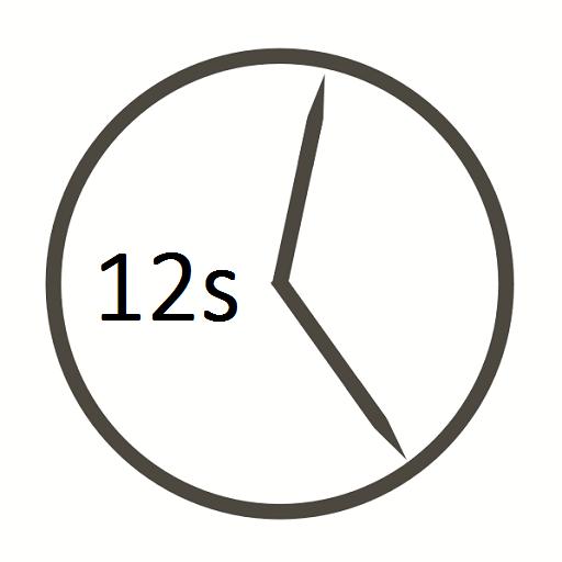 Uhr Sekunden CountDown CountUP