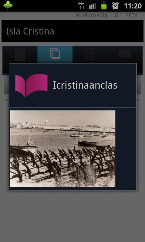 Huelvapedia - screenshot