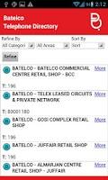 Screenshot of Batelco Directory 181