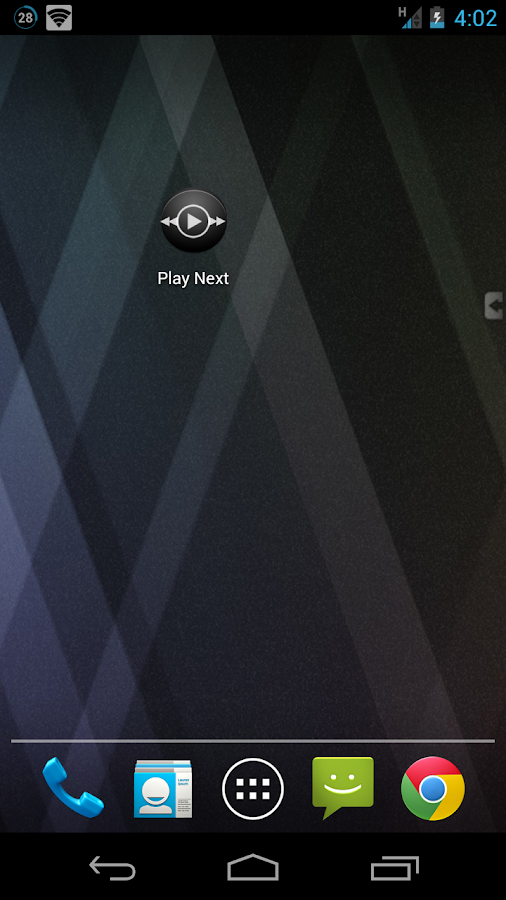 Play Next (Music Control) - screenshot