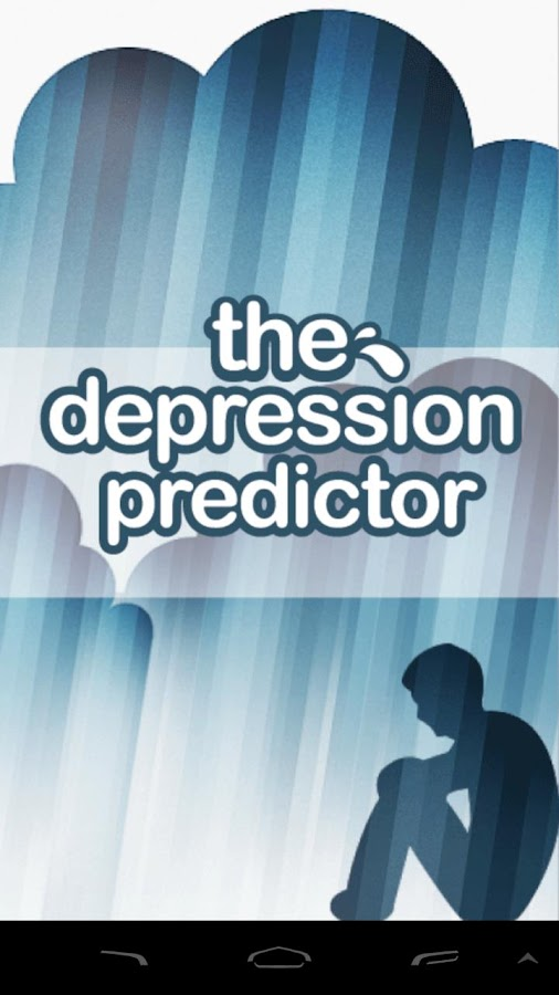 The Depression Predictor - screenshot