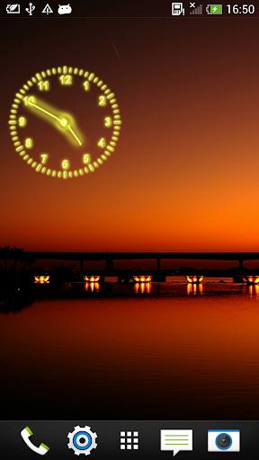 霓虹 時鐘