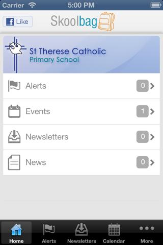 St Therese - screenshot