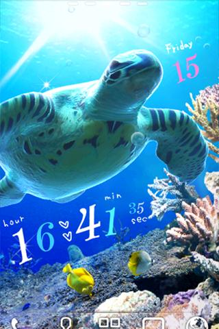 Sea Turtle LiveWallpaper - screenshot