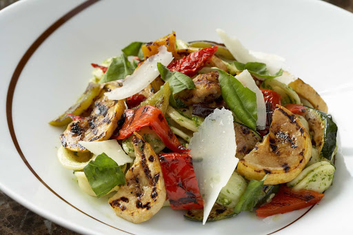 CEL_Tuscan_orchetta_pasta - Orchetta pasta at Celebrity Cruises's Tuscan Grille restaurant.