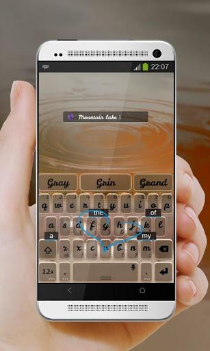 玩免費個人化APP|下載氷河湖 TouchPal Theme app不用錢|硬是要APP
