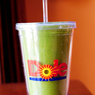 Green Monster Spinach Smoothie.