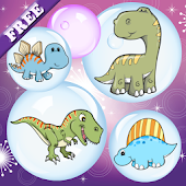 APK App Dinosaurs Bubbles for Toddlers for BB, BlackBerry