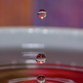 Drops one after another  by Nil Jay - Abstract Water Drops & Splashes ( waterdrop, water droplet, waterdrops, water droplets,  )
