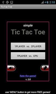 Tic Tac Toe PINK BLACK FREE