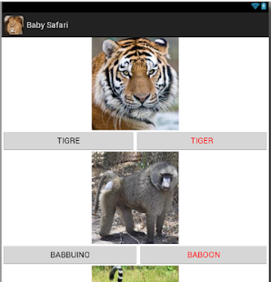 Baby Safari (Free)- miniatura screenshot