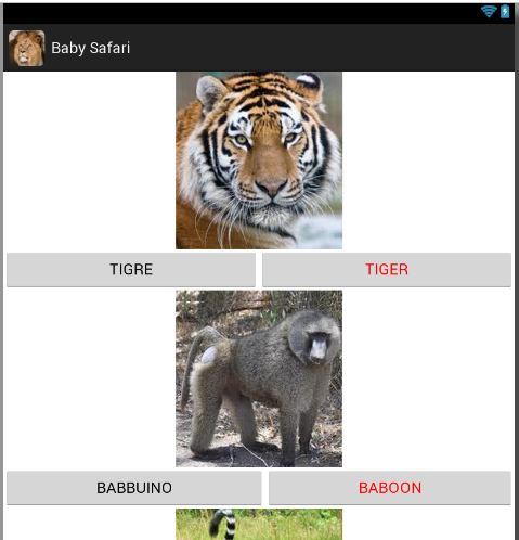 Baby Safari (Free)- screenshot