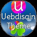 GO Launcher EX Uebdisain Theme logo