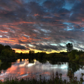 After the Storm by Dave Knapp - Landscapes Sunsets & Sunrises ( hdr, landscapes )