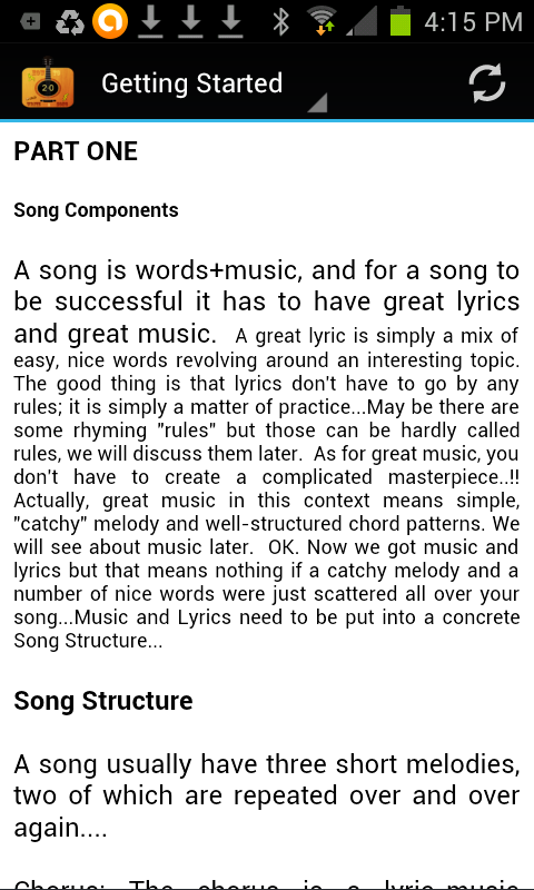 HOW TO WRITE A SONG - screenshot