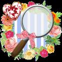かわいい検索ウィジェット【無料きせかえアプリ】 icon