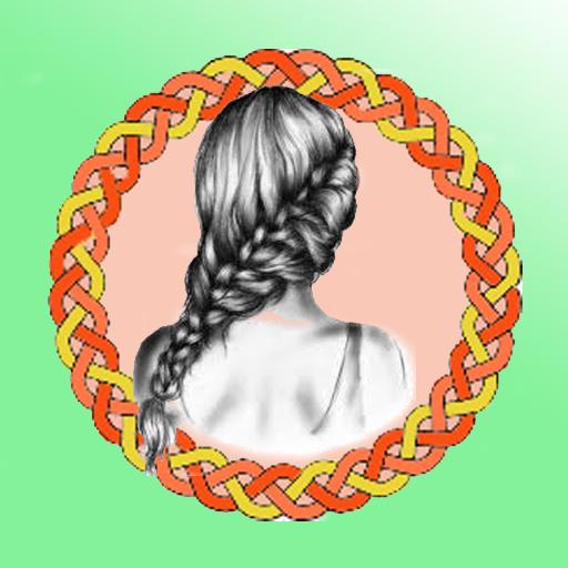 Hair Braid in Illustrator