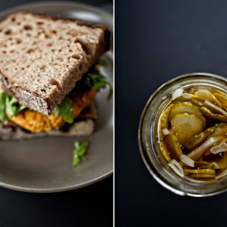 White Bean Burger with Rosemary and Sun-Dried Tomatoes Recipe