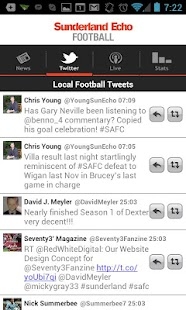 Sunderland Echo Football app - screenshot thumbnail