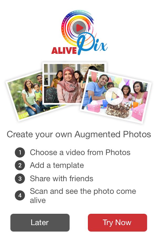 Alive Studio Augmented Reality - screenshot