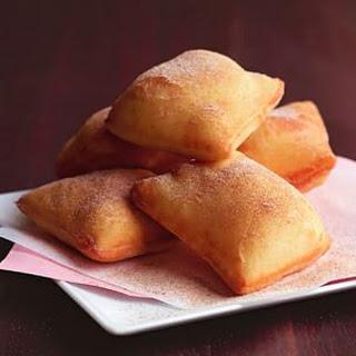 Cinnamon-Sugar Pillows.