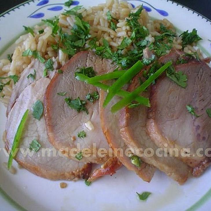 Pineapple Glazed Pork Loin Recipe