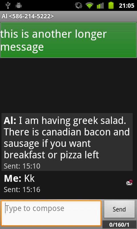 Text Talk- screenshot