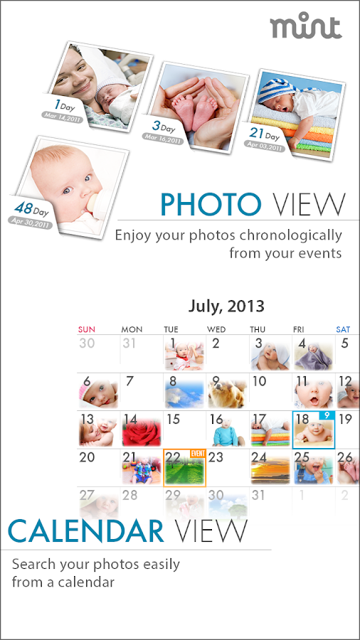 MINT ALBUM:Event+Photo Manager - screenshot