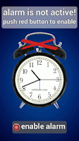Screenshot of Simplest Alarm-clock Ever