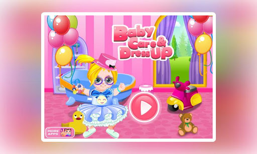 Baby Care Dress Up-Fun Baby