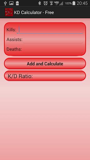 Kill Death Calculator - Pro