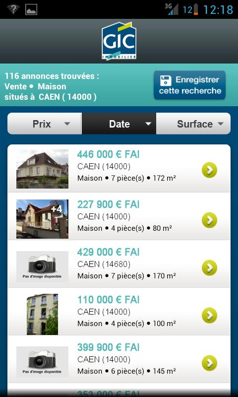 Gic Immobilier - screenshot