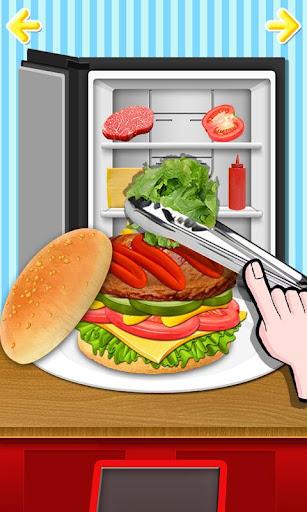 Kids Burger Meal - Fast Food