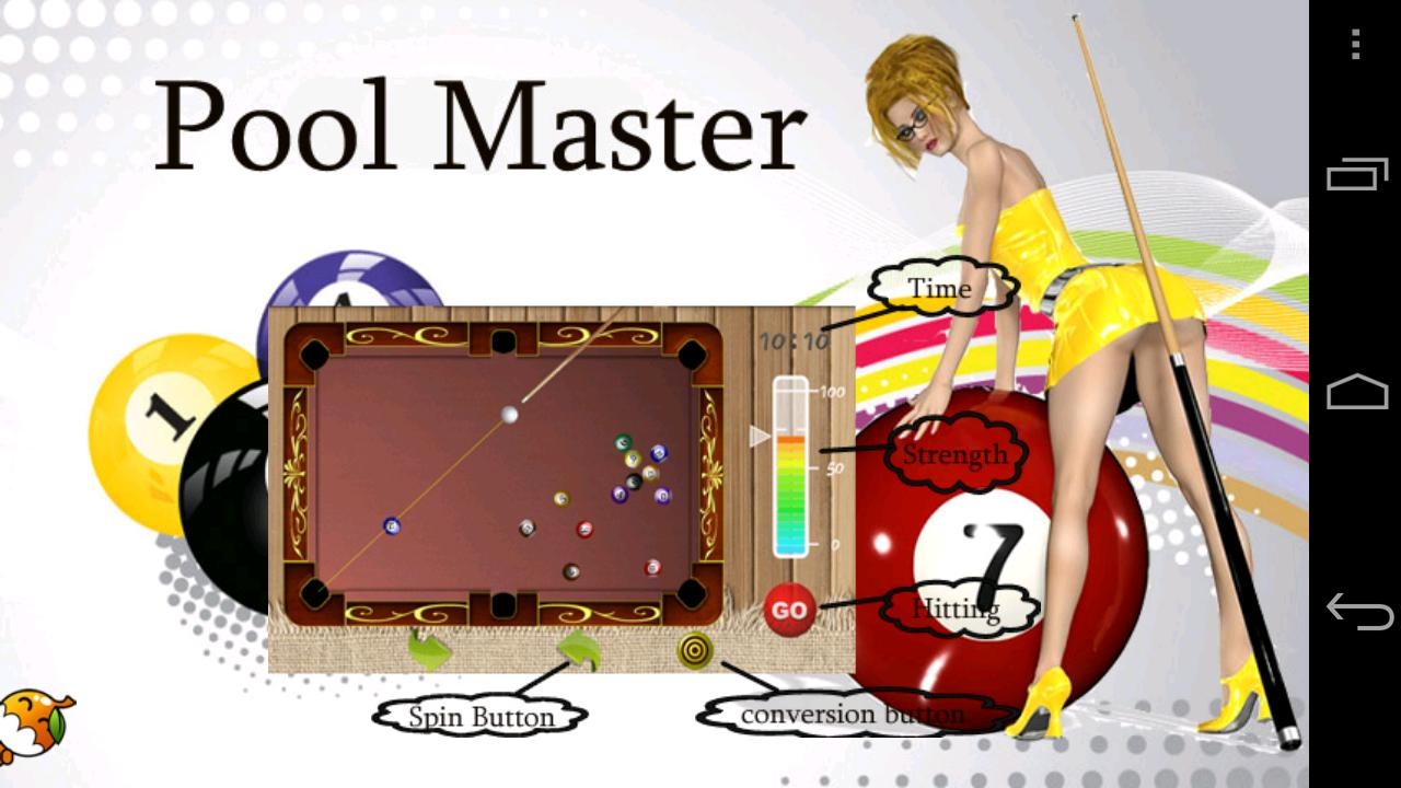 Screenshots of Pool Master Pro for iPhone