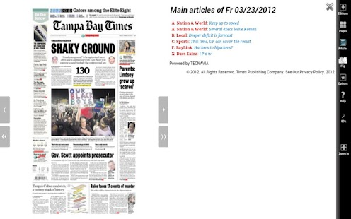 Tampa Bay Times NIE 2012- screenshot thumbnail