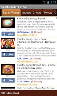 Kick the Buddy Fan App - screenshot thumbnail