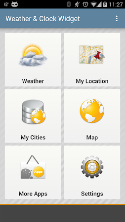 Weather & Clock Widget Android 5.0.1.2 screenshot 959