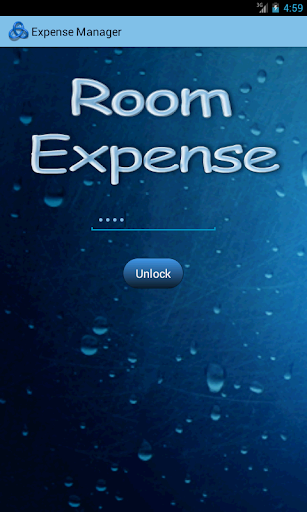 Room Expense Manager REM