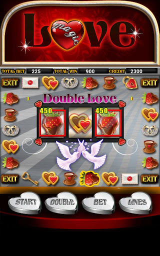 Magic Love Slot Machine HD Screen Capture 3