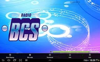 Screenshot of Radio BCS