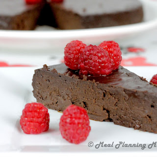 Dark Chocolate Oblivion Torte