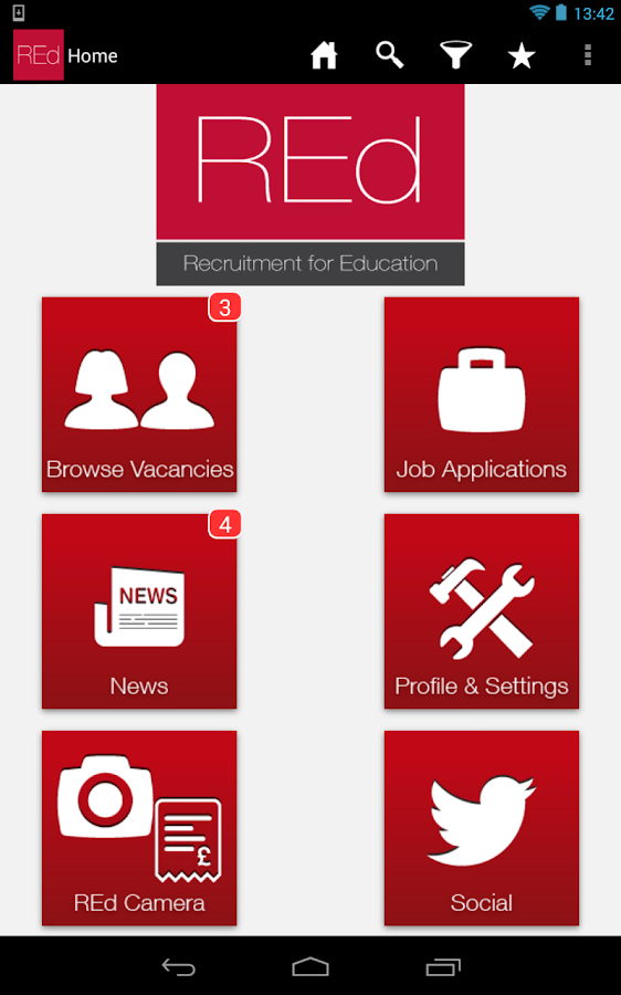 REd Teachers Education Jobs- screenshot