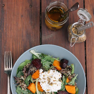 Annalise's Quinoa and Roasted Vegetable Salad.