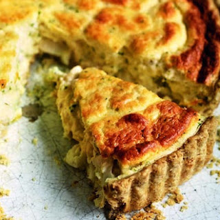 Souffléd Smoked Haddock Tart In Oatmeal Pastry
